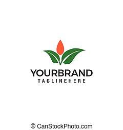 Leaf Logo template vector