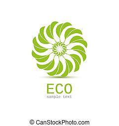 Leaf nature icon