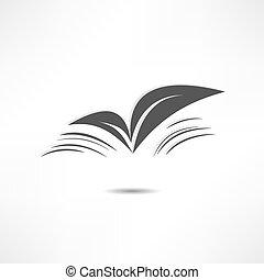 Leaf nature icons