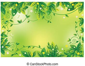 leaf noticeboard