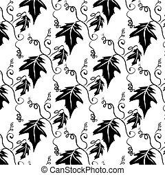 Leaf Pattern Background