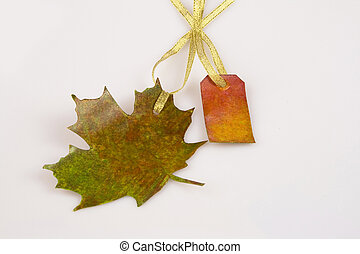 Leaf post card