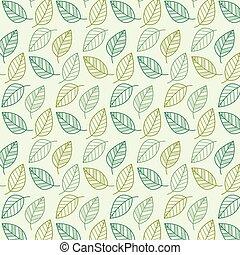 leaf vector pattern, background