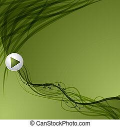 Leaf Vine Arrow Background