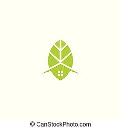leafhouse icon logo