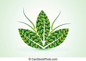 Leafs nature health plant logo