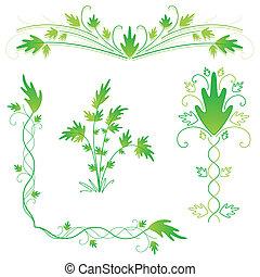Leafy flourishes