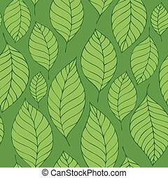 Leafy seamless background 8