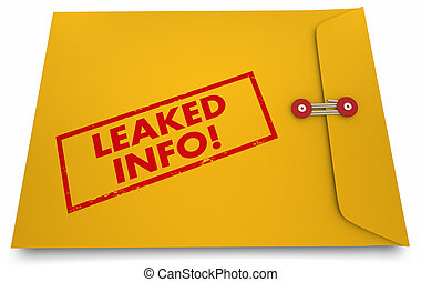 Leaked Info Classified Documents Exposed Secrets Revealed 3d...