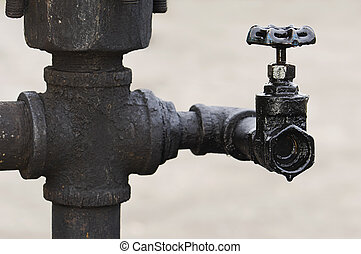 Leaking oil valve
