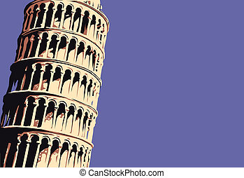 Leaning Tower of Pisa, Tuscany