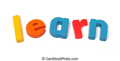 ABC fridge magnets spell learn