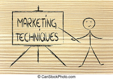 learn about marketing techniques - teacher or executive...