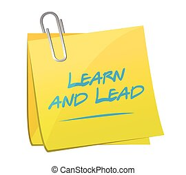 learn and lead memo post illustration