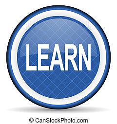 learn blue icon