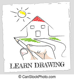 Learn Drawing Represents Develop Educated And Education