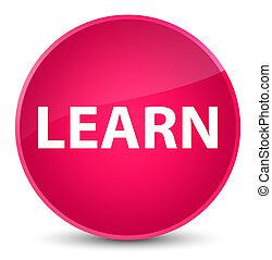 Learn elegant pink round button