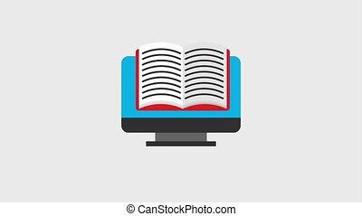 learn english online computer speech bubble certificate...