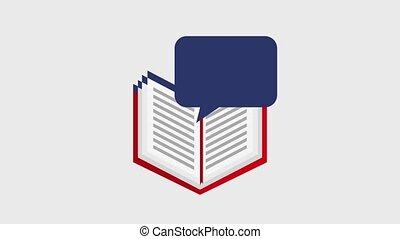 learn english online - learn english speech bubble online...