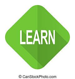 learn flat icon