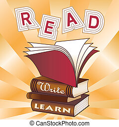 learn!, leer, escribir