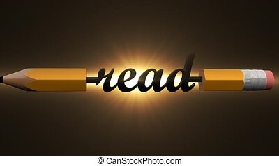 Learn to read. Read a lot of written books. - Learn to read....