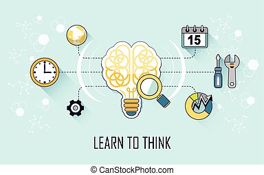 learn to think concept