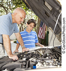 Learning Auto Repair