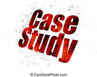 Learning concept: Case Study on Digital background