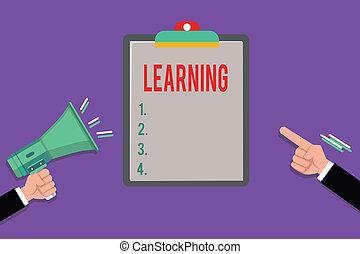 learning., connaissance, business, être, photo, projection, ...