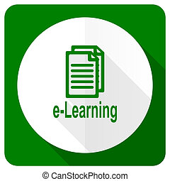 learning flat icon