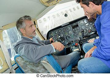 learning inside the cockpit