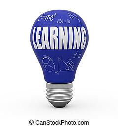 Learning light bulb concept