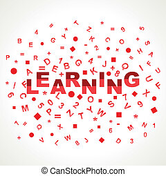 Learning word with in alphabets
