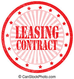Leasing Contract-stamp