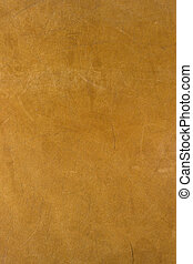 leather background from old, well worn, bag - scratched and...
