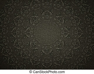 Leather background with embossment or stamping victorian...