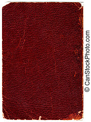 Leather book cover - Rugged leather book cover. Hi-res ...
