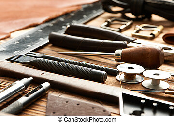 Leather crafting tools - Leather crafting DIY tools still ...