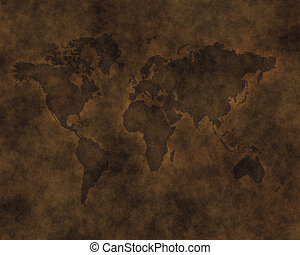 leather map