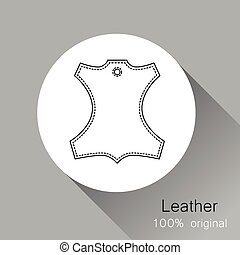 Leather original - Leather - 100% original. Template sign...