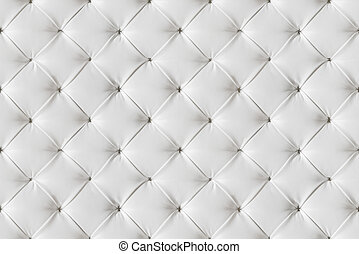 Leather Sofa Texture Seamless Background, White Leathers...