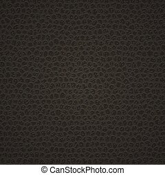 Leather texture background - Black leather texture. Template...