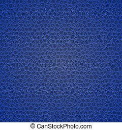 Leather texture background - Blue leather texture. Template ...