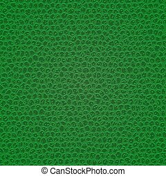 Leather texture background - Green leather texture. Template...