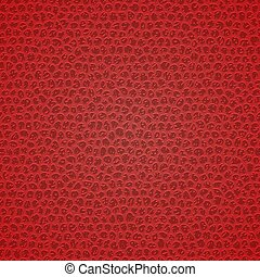 Leather texture background - Red leather texture. Template...