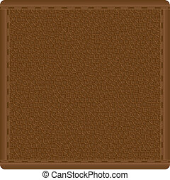 leather texture for design vector