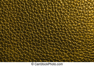 leather texture in dark  gold color