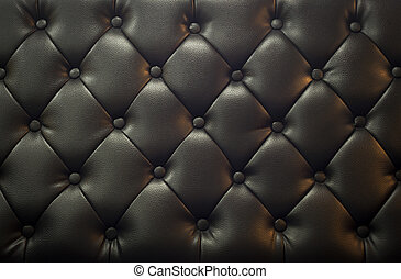 Leather texture in soft light .