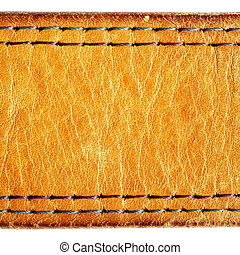 Leather texture, may be used as background